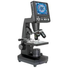 "Microscopio Digital Bresser LCD Micro 3.5"" de 5Mp - 50x-2000x"