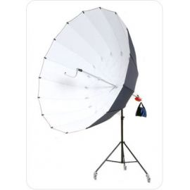 Paraguas Ultralyt Reflector Parabolico Gigante 220 cm - Plata