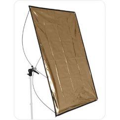 Panel Reflector Ultralyt Plata/Oro de 100x140 cm