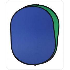 Fondo Plegable Ultralyt Chroma Key Azul-Verde de 110x168cm