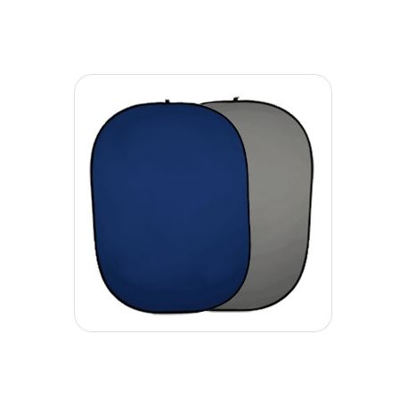 Fondo Plegable Ultralyt Chroma Key Azul-Gris