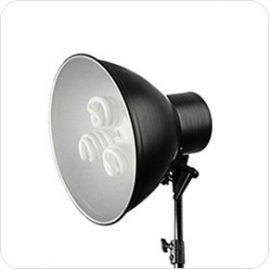 Foco de Luz Fria 75W de 3 bombillas