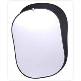 Fondo Plegable Ultralyt Chroma Key Blanco-Negro de 102x153 cm