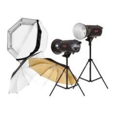 Kit de Iluminacion Profesional 4 Ultralyt - WT-803