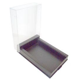 Caja de Almacenamiento Euromex para 25 Preparados de Microscopio