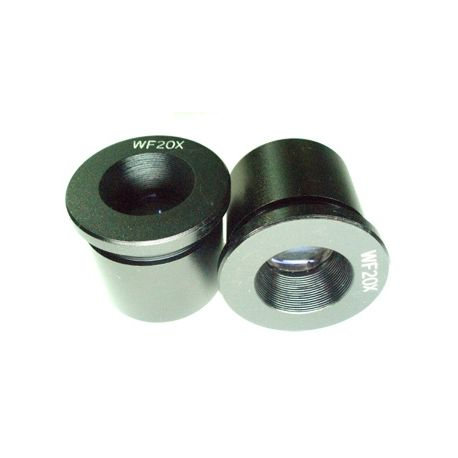 Juego de 2 oculares 20x SUPER WF para Lupas Binoculares (30.5)