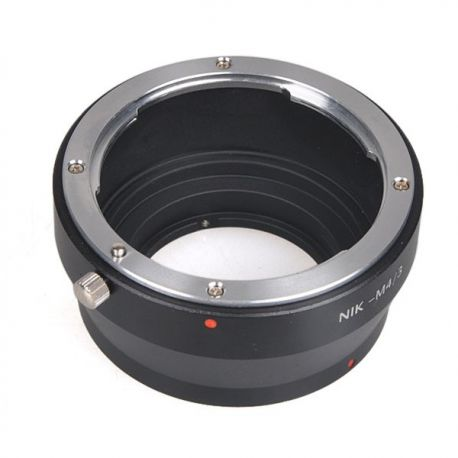 Adaptador Micro 4/3 para Objetivo Nikon AF