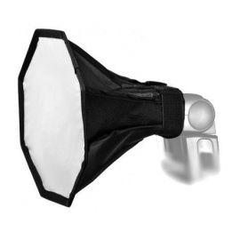 Mini Ventana Softlight Octogonal Ultralyt 18cm para Flash externo