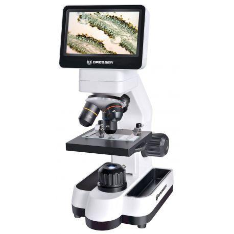 "Microscopio Digital Táctil Bresser LCD Micro 4.3"" de 5Mp - 40x-1600x"