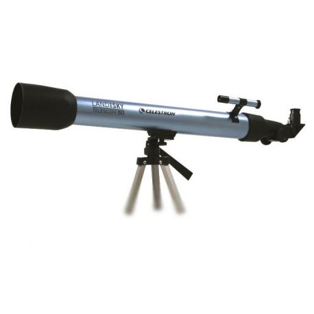 Telescopio Celestron Land Sky 50 Blue