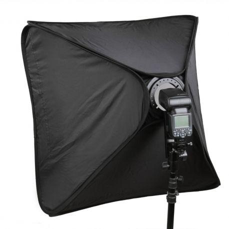 Ventana Ultralyt 60x60 cm para Flash externo