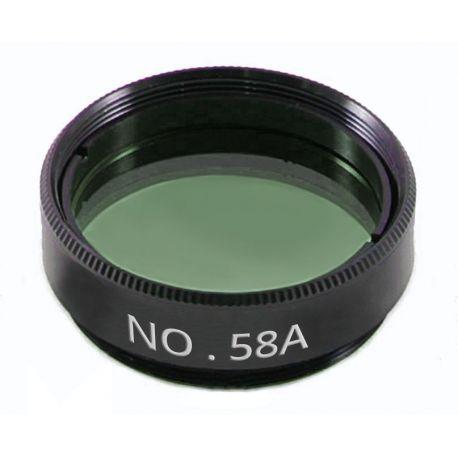 Filtro planetario N58A BCrown - Verde oscuro