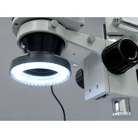 Luz anular Ultralyt de 64 Leds para lupas binoculares / trinoculares