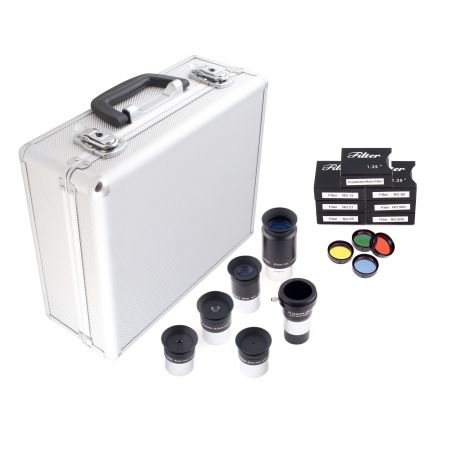 Kit Optico Deluxe BCrown 125 - Oculares y Filtros