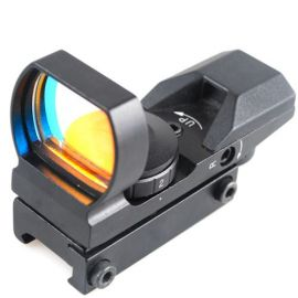 Mira BCrown 33 mm punto rojo - 4 Reticulas