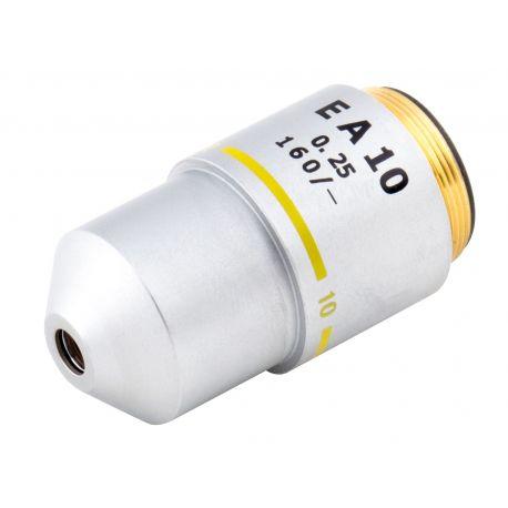 Objetivo EA10x DIN (Extra Acromático) para Microscopios