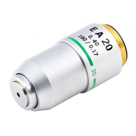Objetivo EA20x DIN (Extra Acromático) para Microscopios