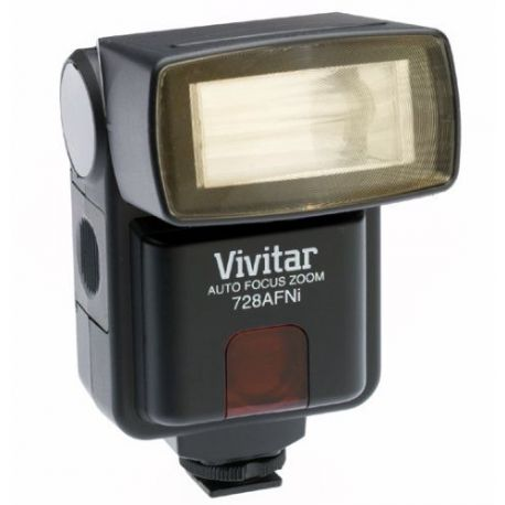 Flash Vivitar 728AF AutoFocus Zoom para Nikon