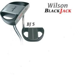 """Putter Wilson V 35"""" Black Jack"""