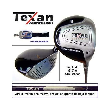 Madera 3 Texan Classics 195cc - Titanio y Grafíto