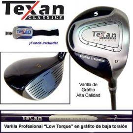 Madera 5 Texan Classics 180cc - Titanio y Garfíto