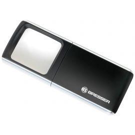 Lupa de Bolsillo Bresser - 3X - Iluminacion LED