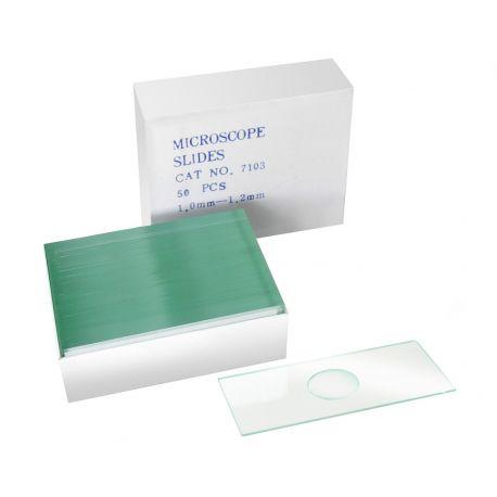 Portaobjetos de cristal con inmersión Bresser - 50 uds