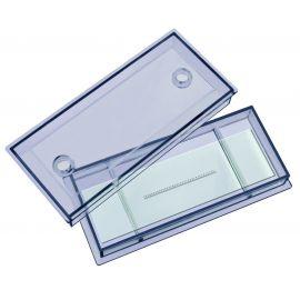 Portaobjetos de cristal Bresser micrometrizado