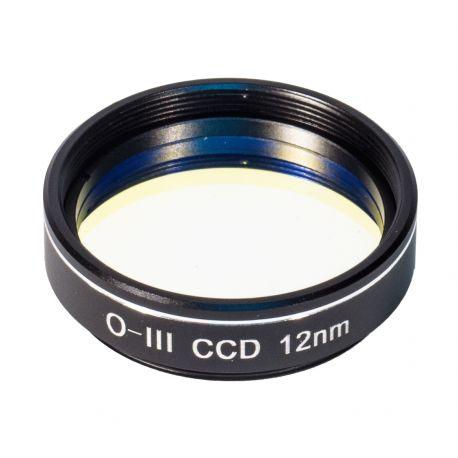 """Filtro Oxígeno III (OIII) CCD 12 nm de 1,25"""" - BCrown"""
