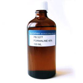 Formalina - Formaldehído al 40% 100 ml - Euromex