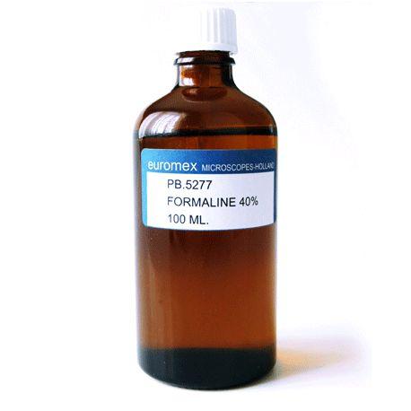 Formalina - Formaldehído al 40% - Euromex