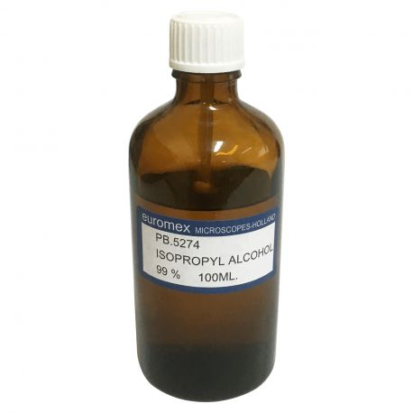 Alcohol isopropílico al 99% 100 ml - Euromex
