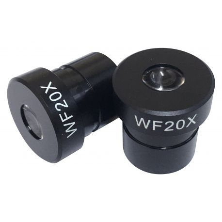 Ocular WF 20x para microscopios con toma standard 23,2 mm