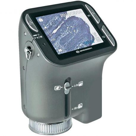 Microscopio de mano digital Bresser LCD 3,5x-35x - 1,3 Mpx