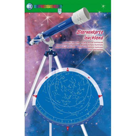 Planisferio celeste fluorescente Bresser
