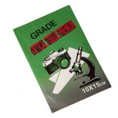 Hojas de limpieza Euromex para cristales ópticos