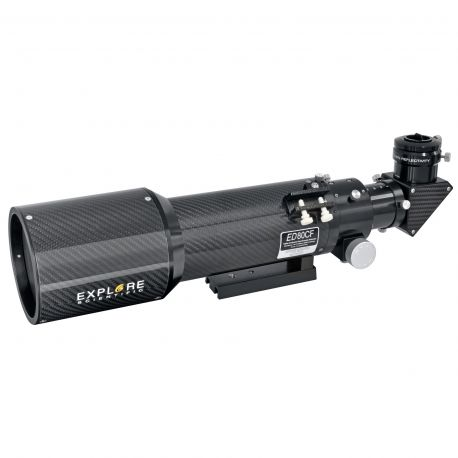 Explore Scientific Refractor apocromático AP 80/480 ED Carbono OTA