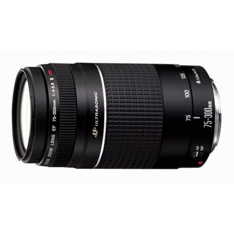 Objetivo Canon EOS 75-300mm f/4-5.6 III USM