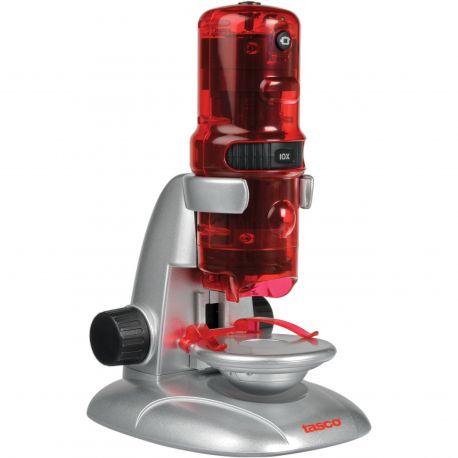Microscopio digital Tasco de iniciación 10x, 60x y 120x con accesorios