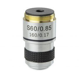 Objetivo DIN 35mm Acromático S60x/0.85 retráctil Euromex