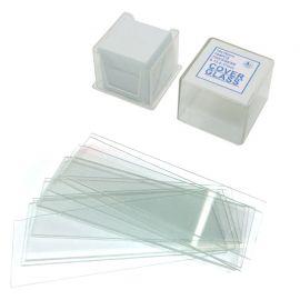 Kit de portas y cubreobjetos de cristal para microscopia