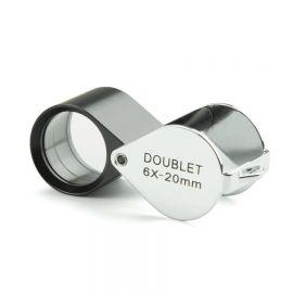 Lupa Doblete Aplanática Plegable Euromex 6x 20 mm PB5016