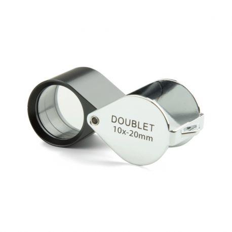 Lupa Doblete Aplanática Plegable Euromex 10x 20 mm PB5016