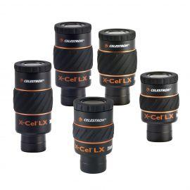 """Ocular Celestron X-Cel LX de 1,25"""" (Focal a elegir de 2,3 a 25 mm)"""