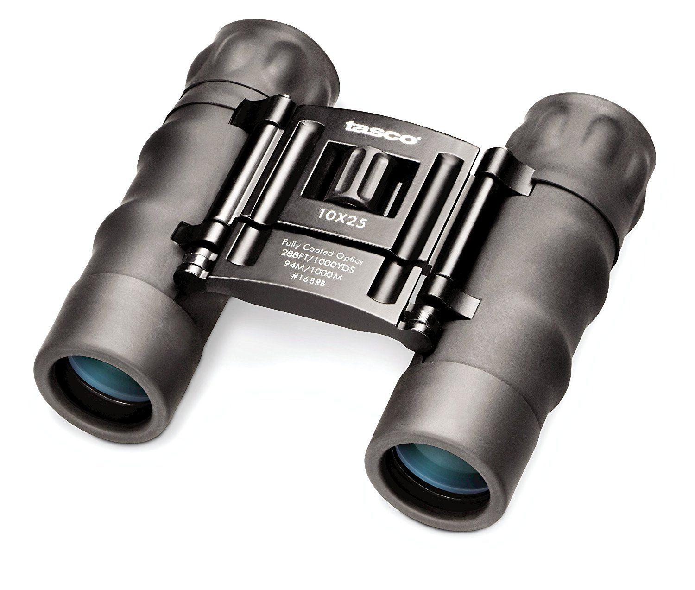 Prismáticos binoculares monocular 10x25 con bolsa nuevo!