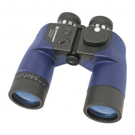 Prismático Bak-4 Bresser 7x50 con retícula y compás integrado