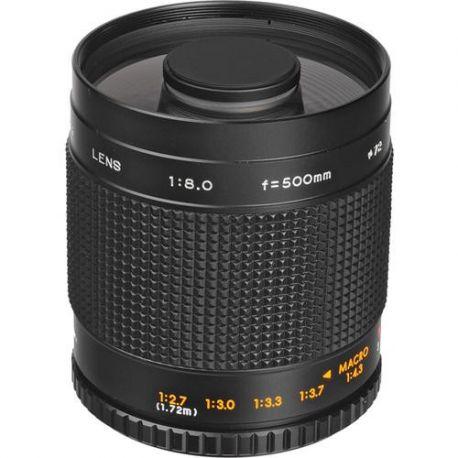 Objetivo Bower 500mm para Nikon, Canon, Minolta, Pentax o Sony