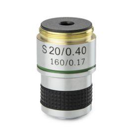 Objetivo DIN 35 mm Acromático 20x/0.40 para Microscopio Biológico