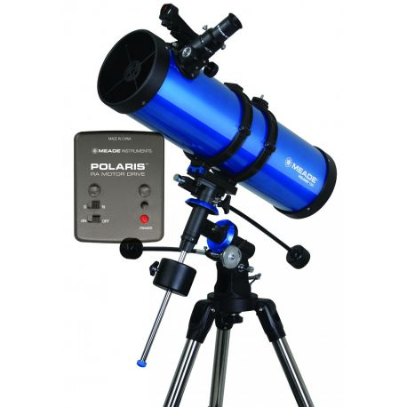 Telescopio reflector Meade Polaris 130 EQ Motorizado