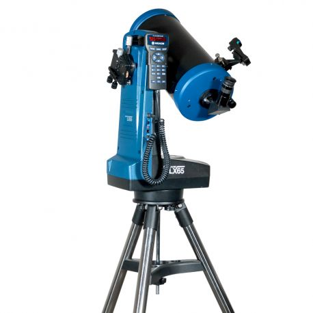 """Telescopio Maksutov Cassegrain Meade LX65 6"""" GoTo con AudioStar"""